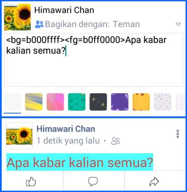 Kode Warna Fb Lite