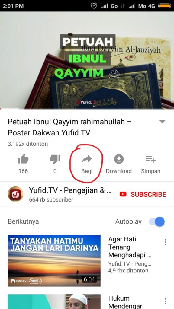 Cara Download Video Youtube di Android Tanpa Aplikasi 1