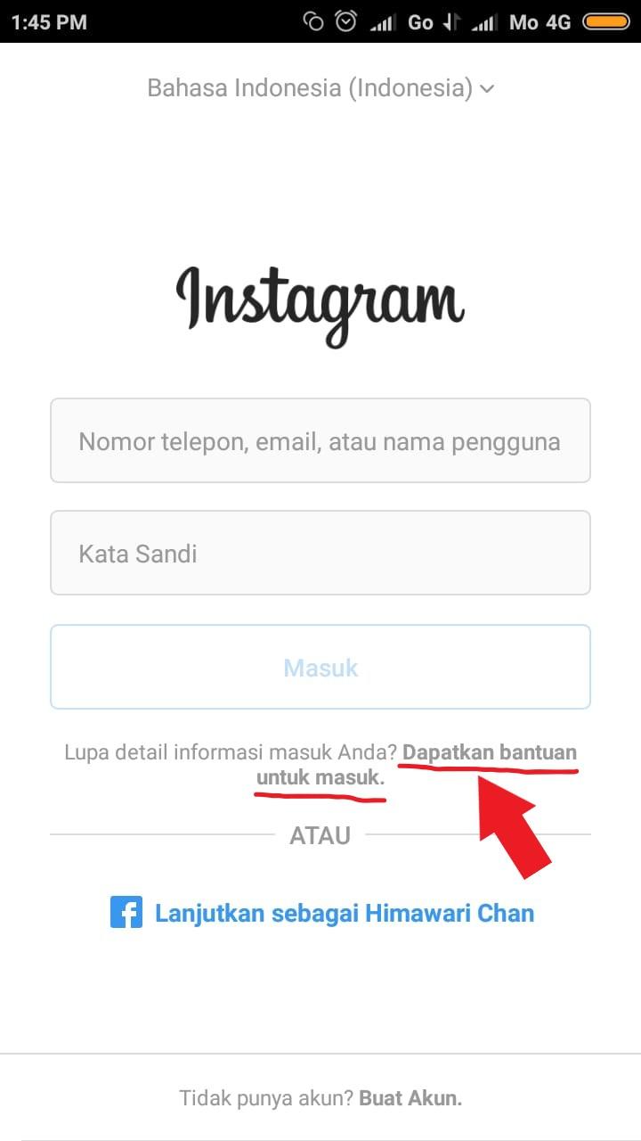 Lupa Password Instagram? Begini Cara Memulihkan Password Instagram 2