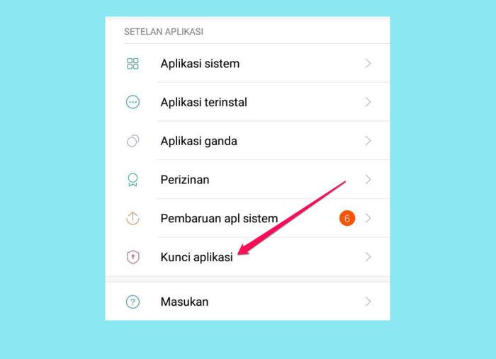 Cara Mengunci Aplikasi di Xiaomi [khusus xiaomi] 1