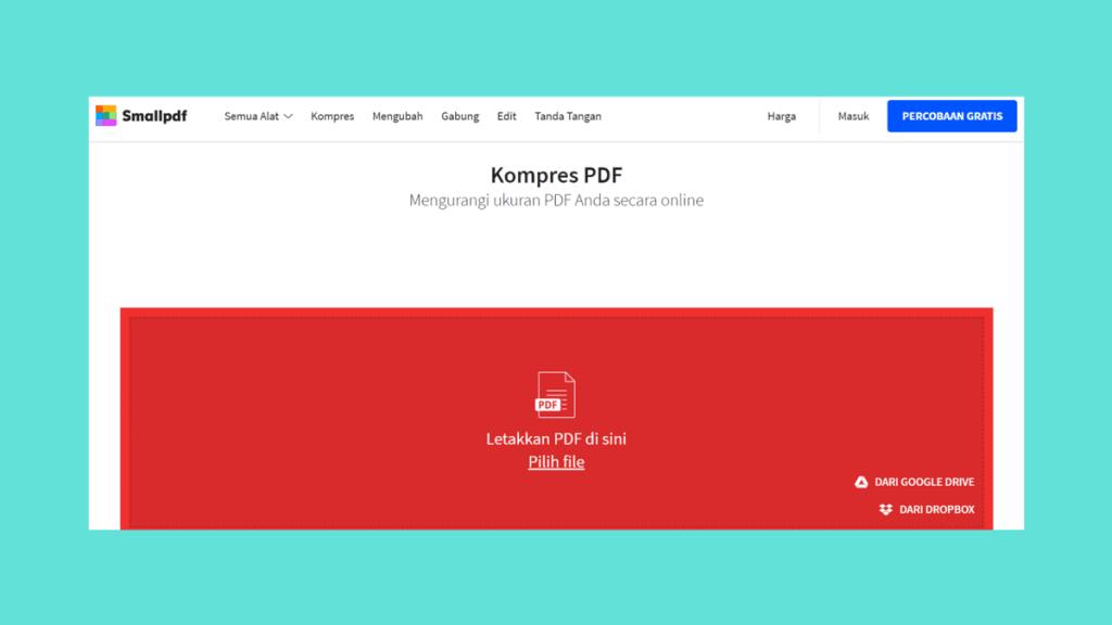 Cara Kompres PDF (memperkecil ukuran pdf)  Offline & Online 2