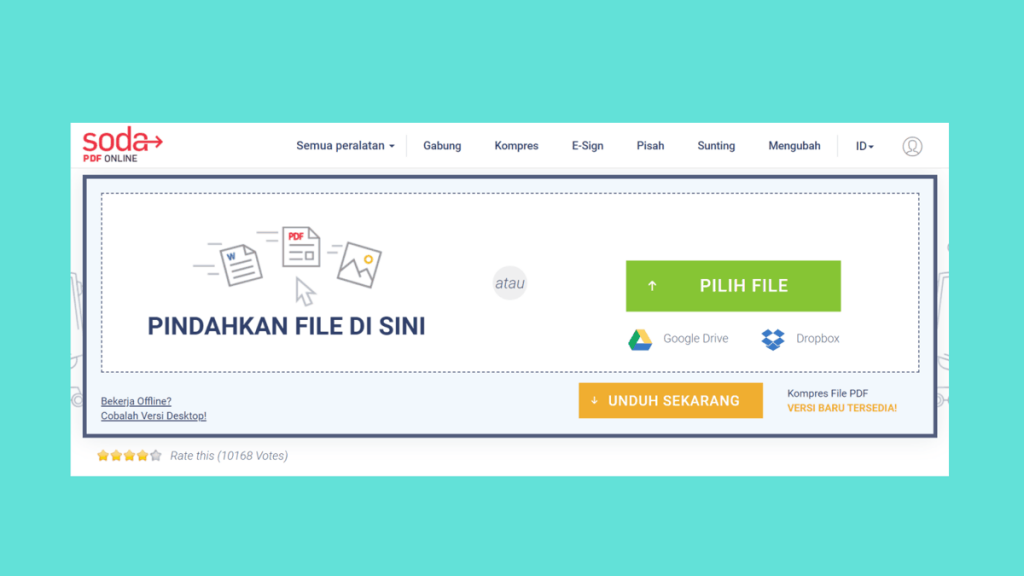 Cara Kompres PDF (memperkecil ukuran pdf)  Offline & Online 3
