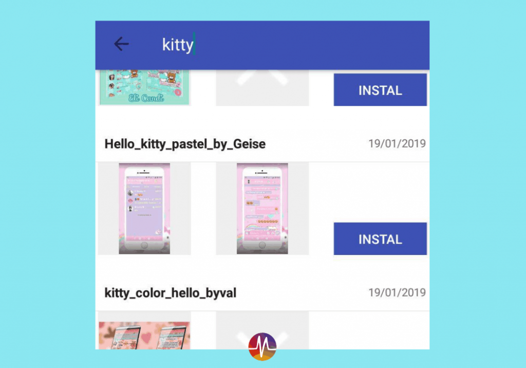 Download Tema Whatsapp Hello Kitty Pink Cantik 4