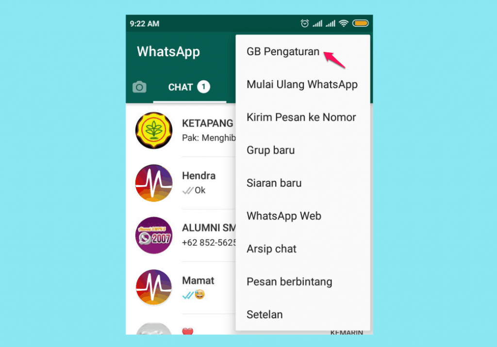 Download Tema Whatsapp Hello Kitty Pink Cantik 1